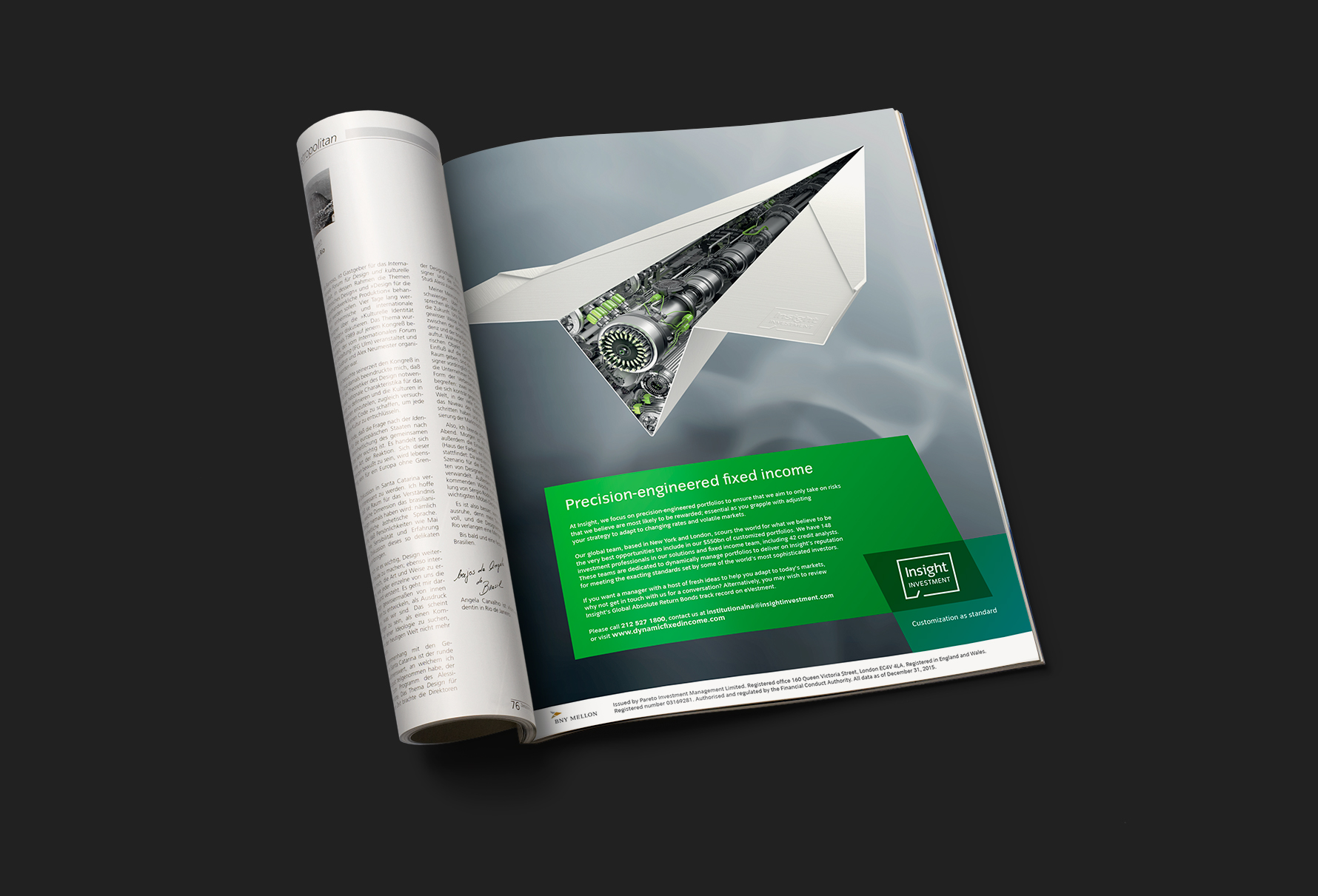 Insight investment paper plane campaign image 04