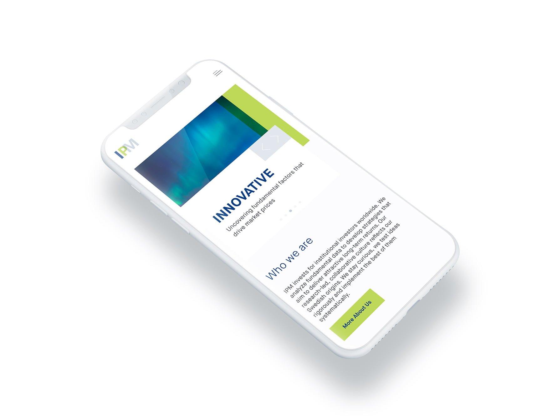 IPM WEBSITE IPHONE